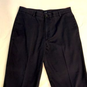 IZOD navy blue chino pants 36x29
